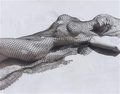 Herb Ritts Brigitte Nielsen Gelatin Silver Print SIGNED