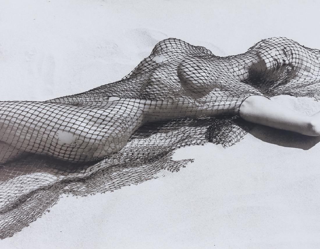 Herb Ritts Brigitte Nielson Gelatin Silver Print SIGNED