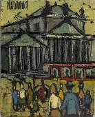 Phillipe Marchand 20c French Paris School Painting