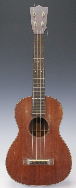 Early Antique C.F. Martin Guitar Co. Tenor Ukulele