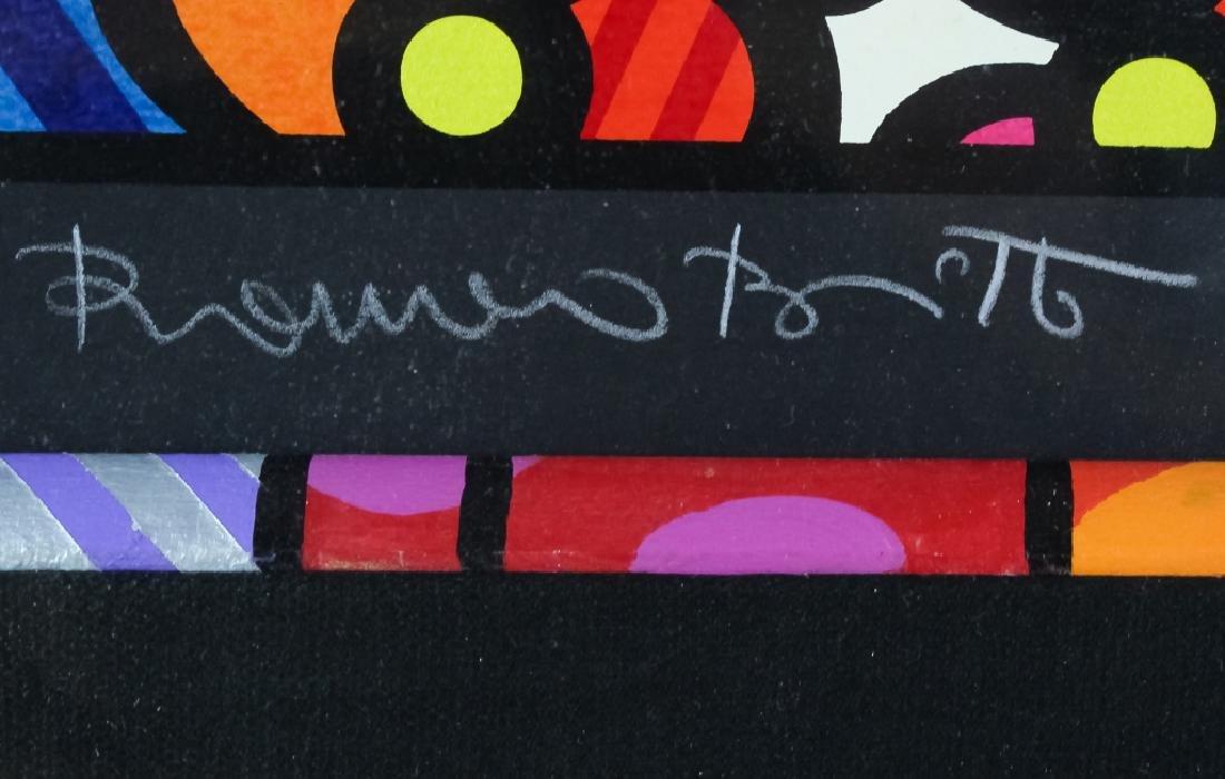 Romero Britto b.1963 Pop Art LE Wedding Serigraph - 3