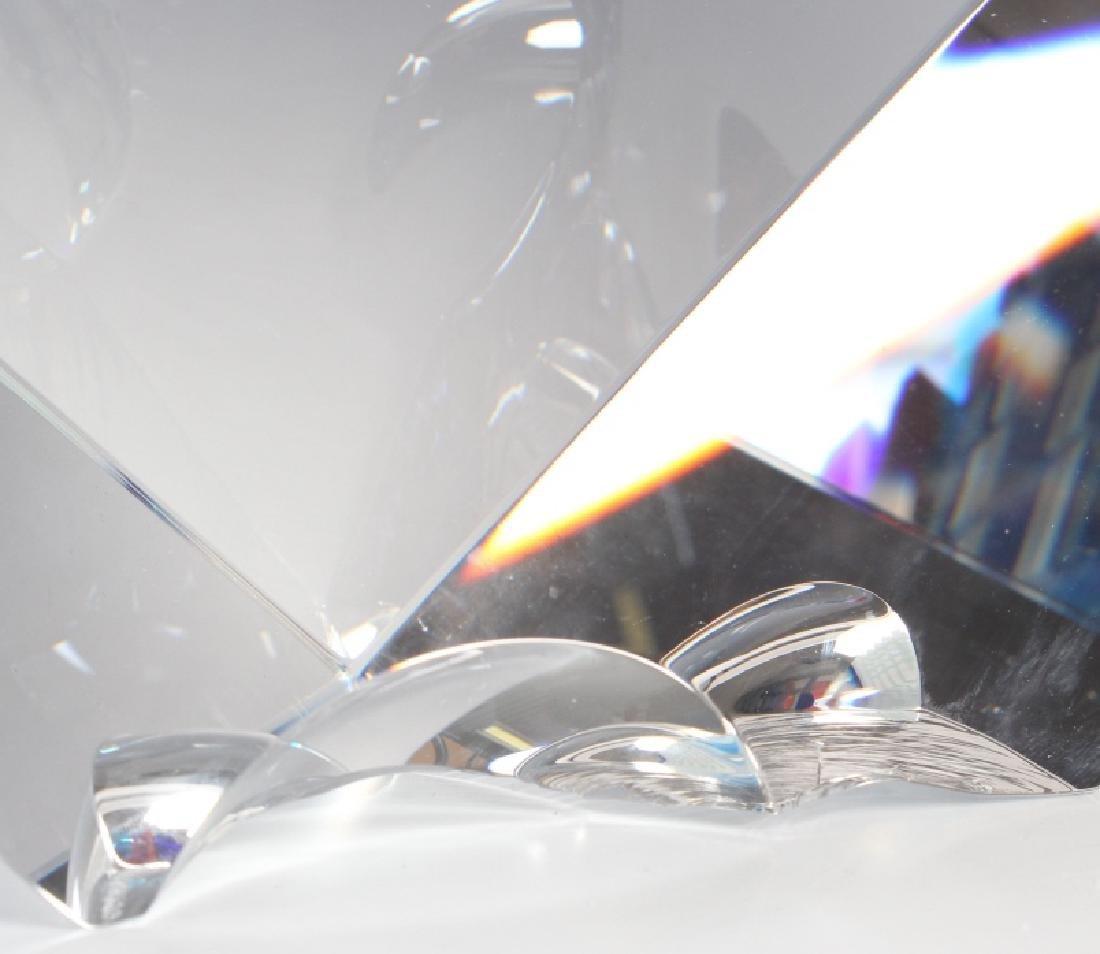 DAVID HUCHTHAUSEN American Art Glass Sculpture - 4