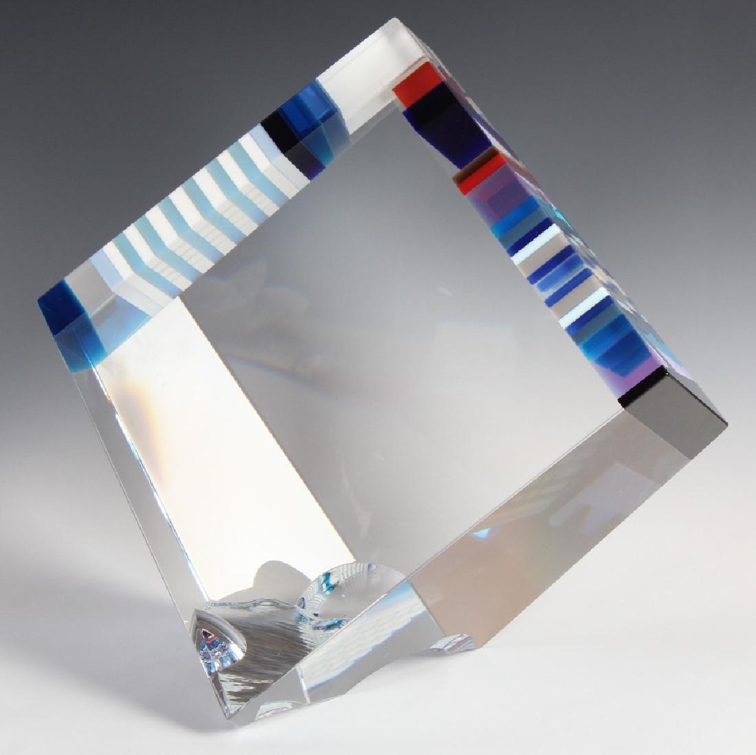DAVID HUCHTHAUSEN American Art Glass Sculpture - 5