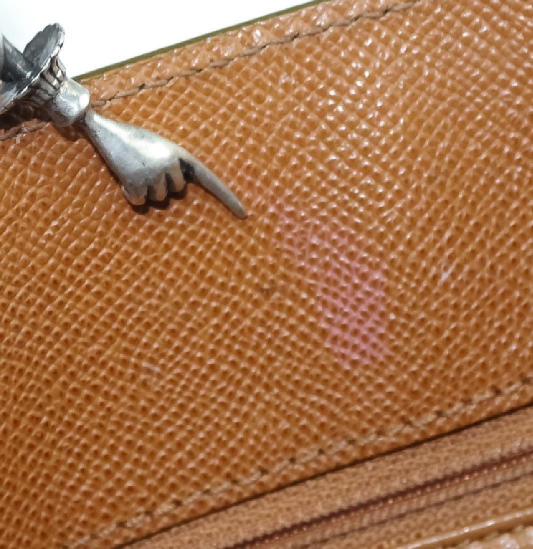 Chanel France Beige Leather Tote Bag Purse Handbag - 10