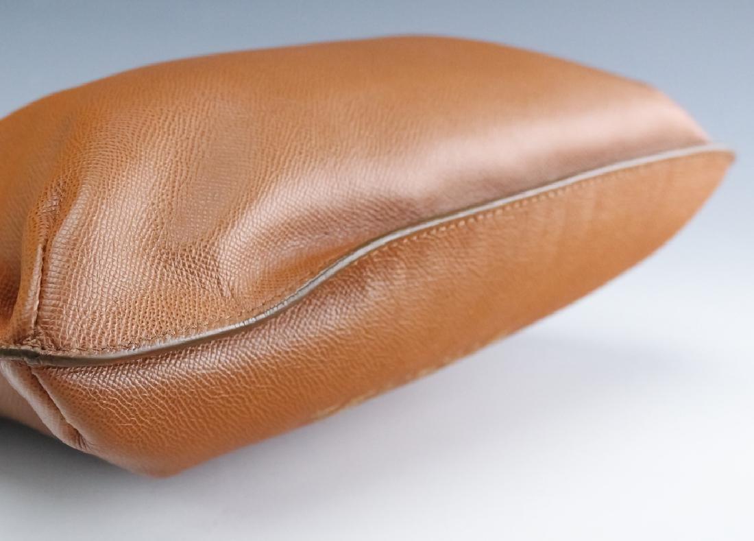 Chanel France Beige Leather Tote Bag Purse Handbag - 8