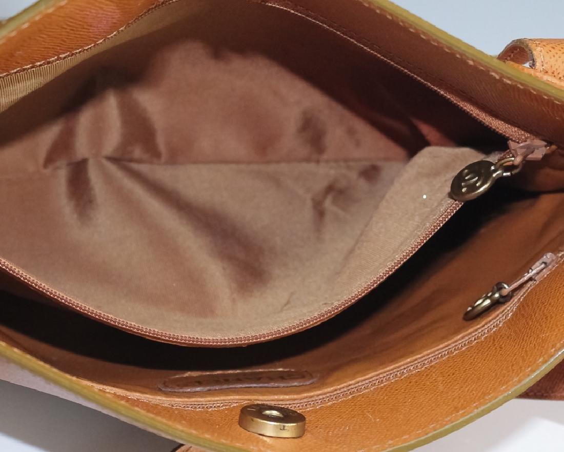 Chanel France Beige Leather Tote Bag Purse Handbag - 9