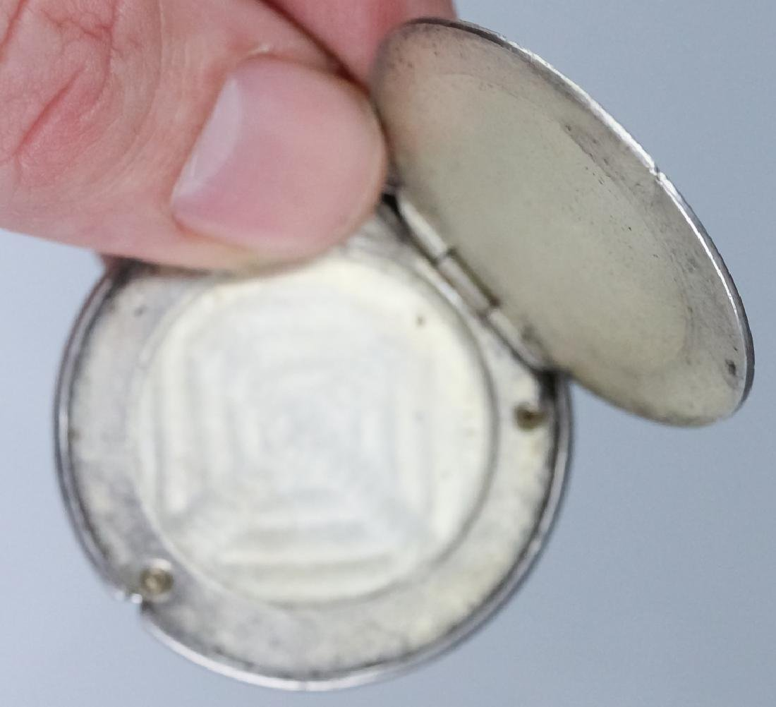 Genuine 1877 S Silver Trade Dollar Opium Box Case - 3