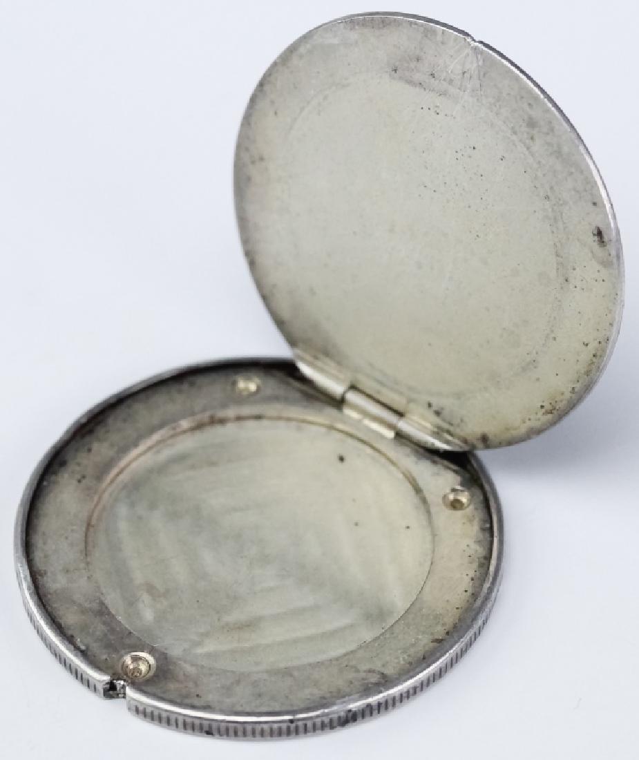 Genuine 1877 S Silver Trade Dollar Opium Box Case - 7