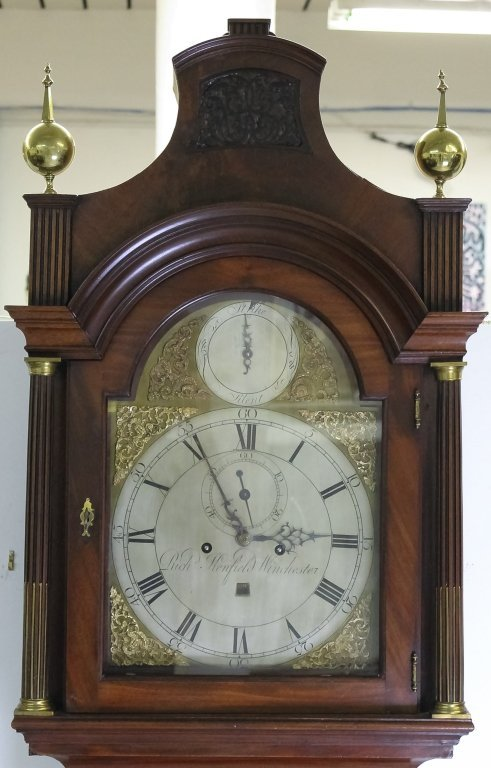 Antique 18c English Long Case Grandfather Clock - 3