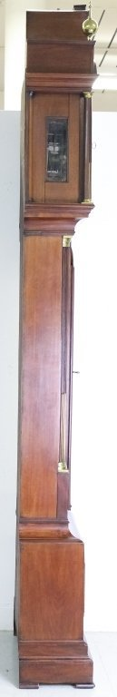 Antique 18c English Long Case Grandfather Clock - 5