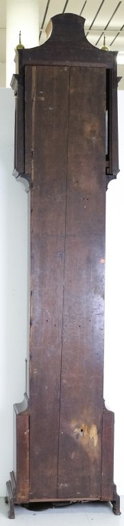 Antique 18c English Long Case Grandfather Clock - 7