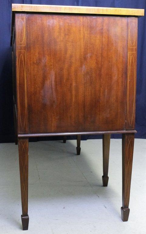 Custom Mahogany Sheridan Style Sideboard Server - 4