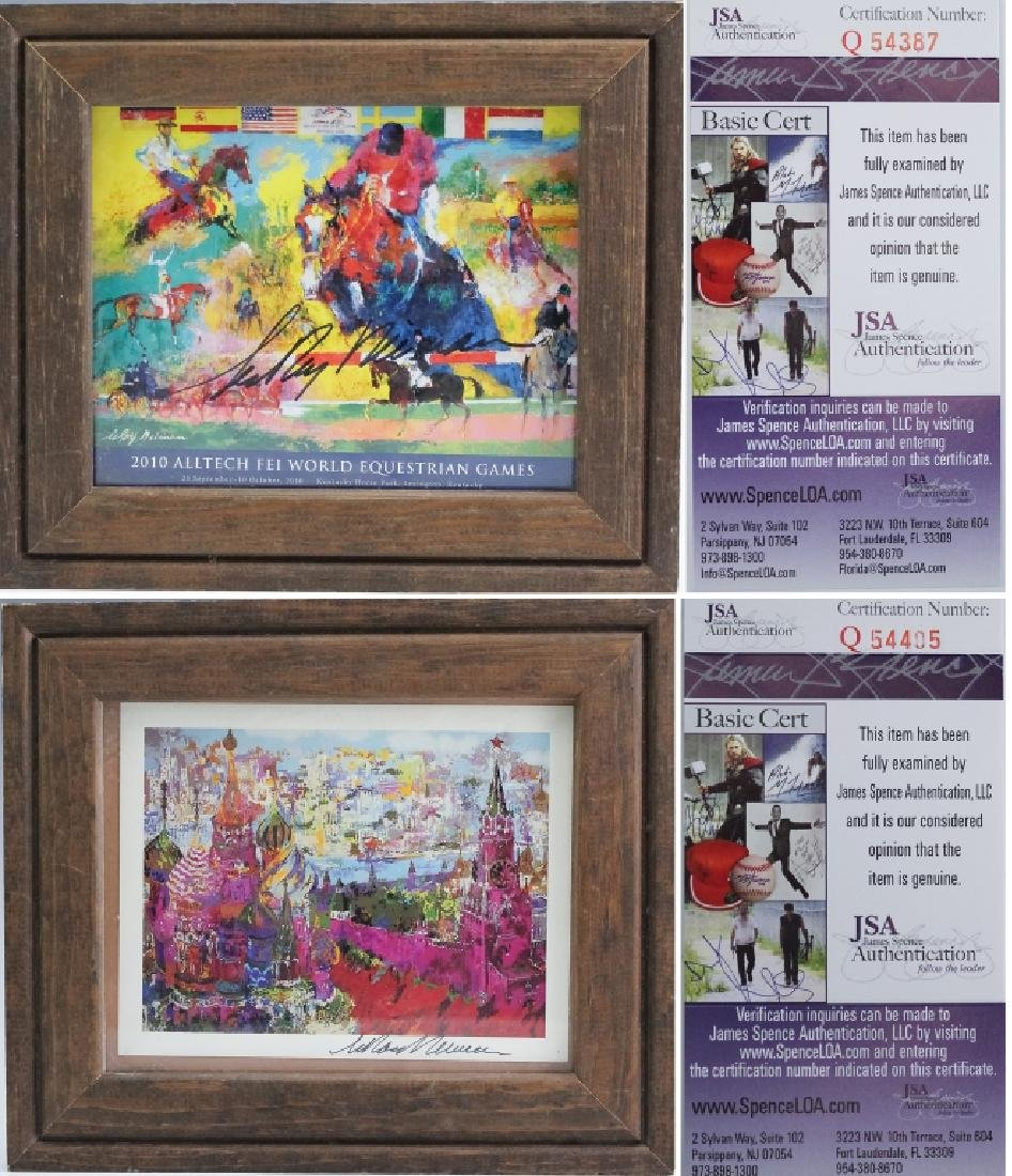 2 LeRoy Neiman 1921-2012 Horses & Islamic Posters