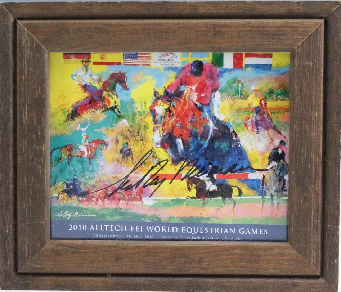 2 LeRoy Neiman 1921-2012 Horses & Islamic Posters - 3