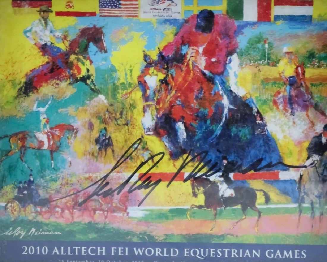 2 LeRoy Neiman 1921-2012 Horses & Islamic Posters - 4