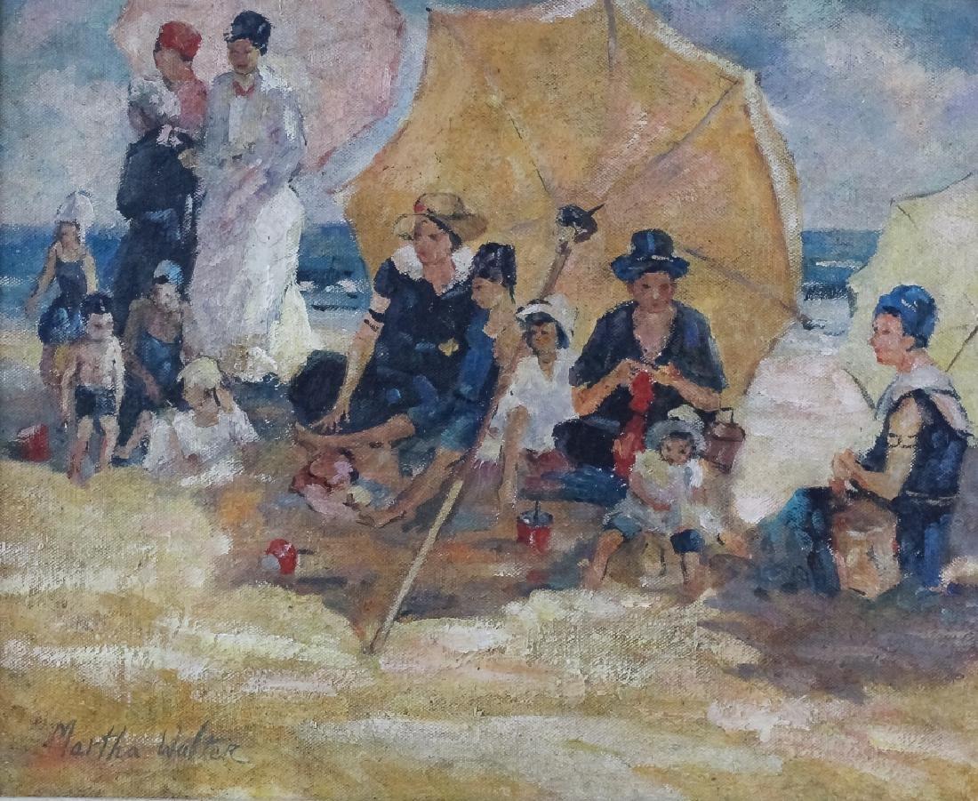 Martha Walter 1875-1976 Beach Landscape Painting - 2