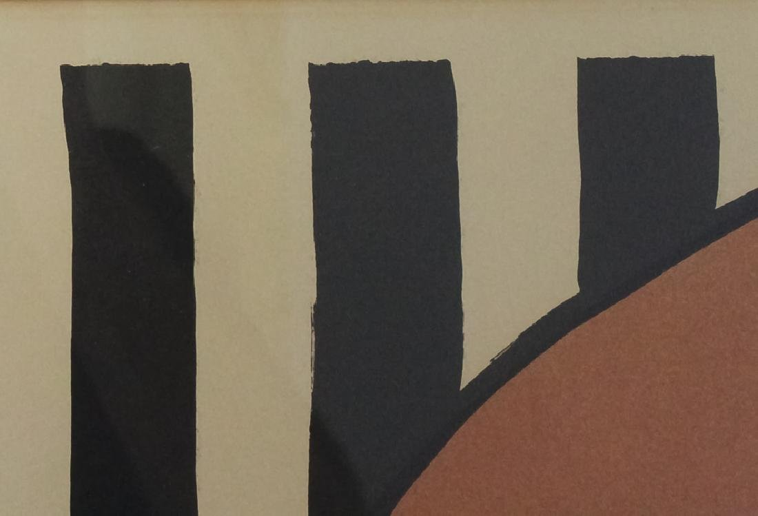 Alexander Calder Modernist Tri Color Lithograph - 4