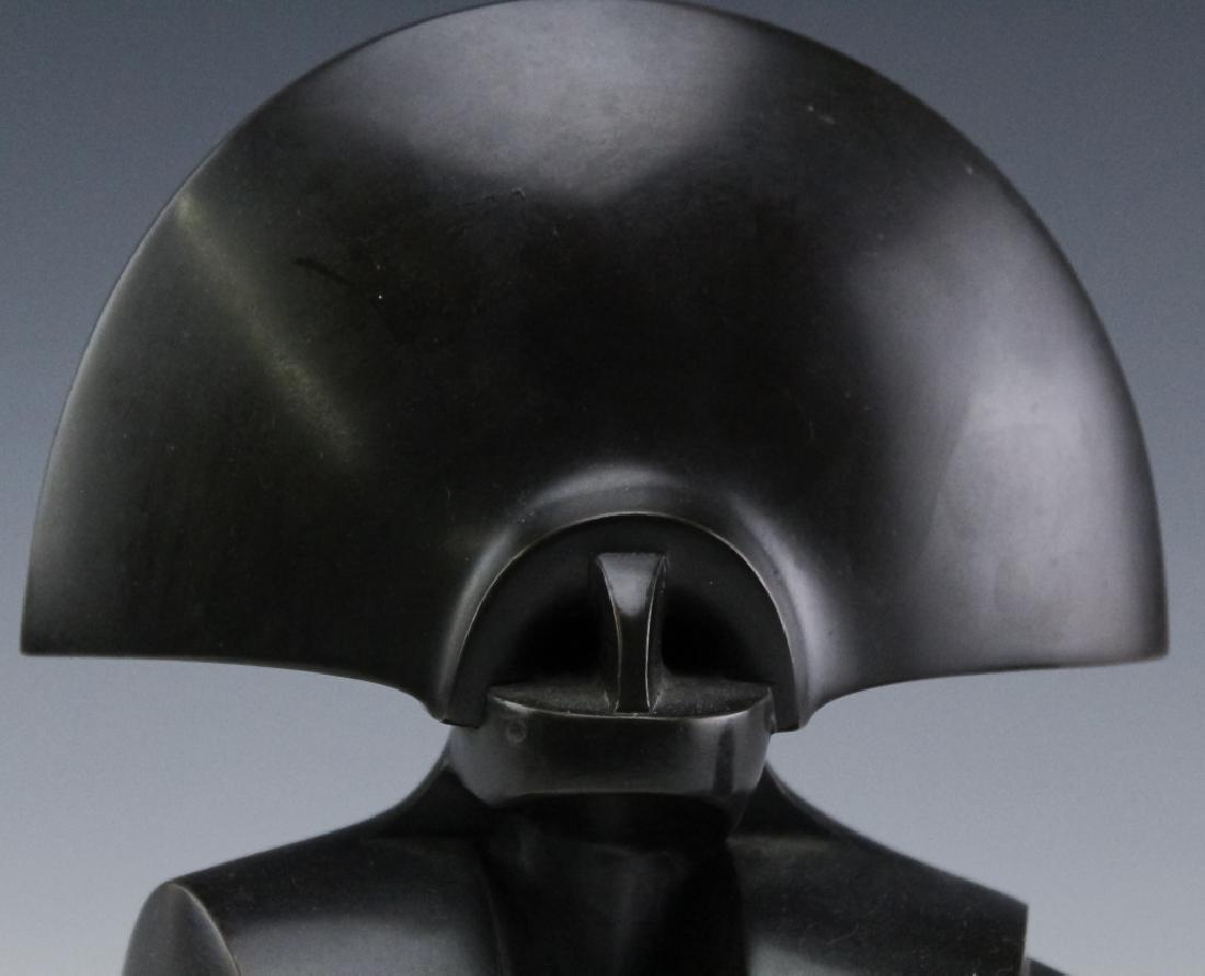 Howard H Newman Giulia Cubist Bronze AP Sculpture - 5