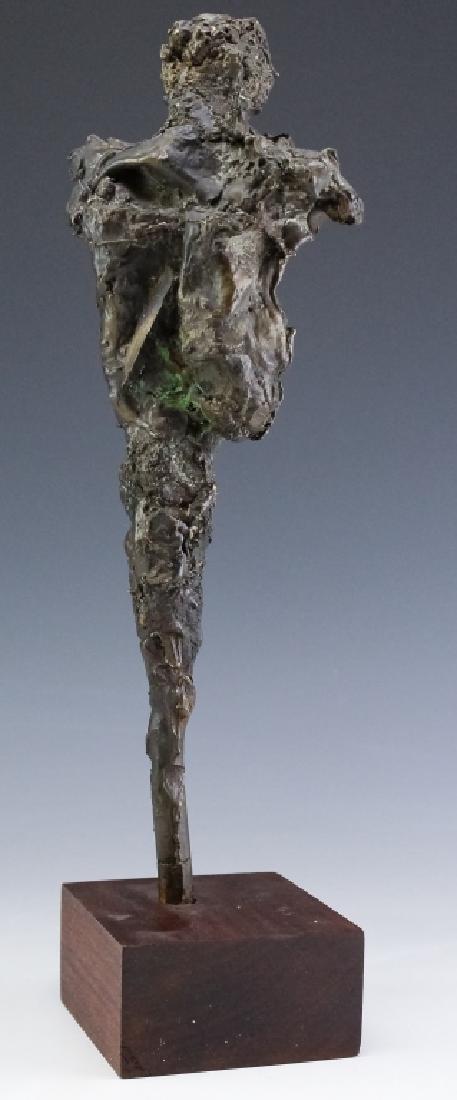 Brutalist Giacometti Style Bronze Modern Sculpture - 2