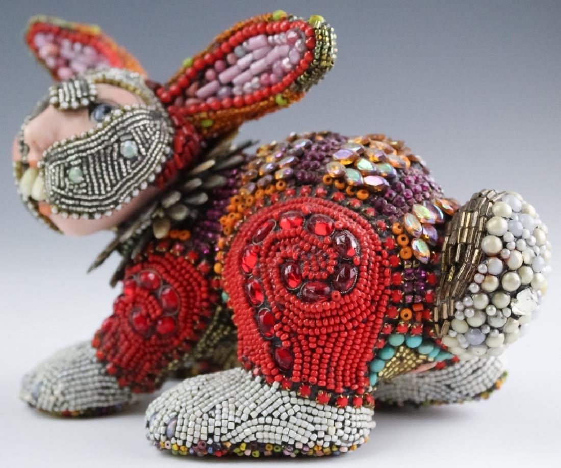 Betsy Youngquist Surrealist Rabbit Art Sculpture - 2