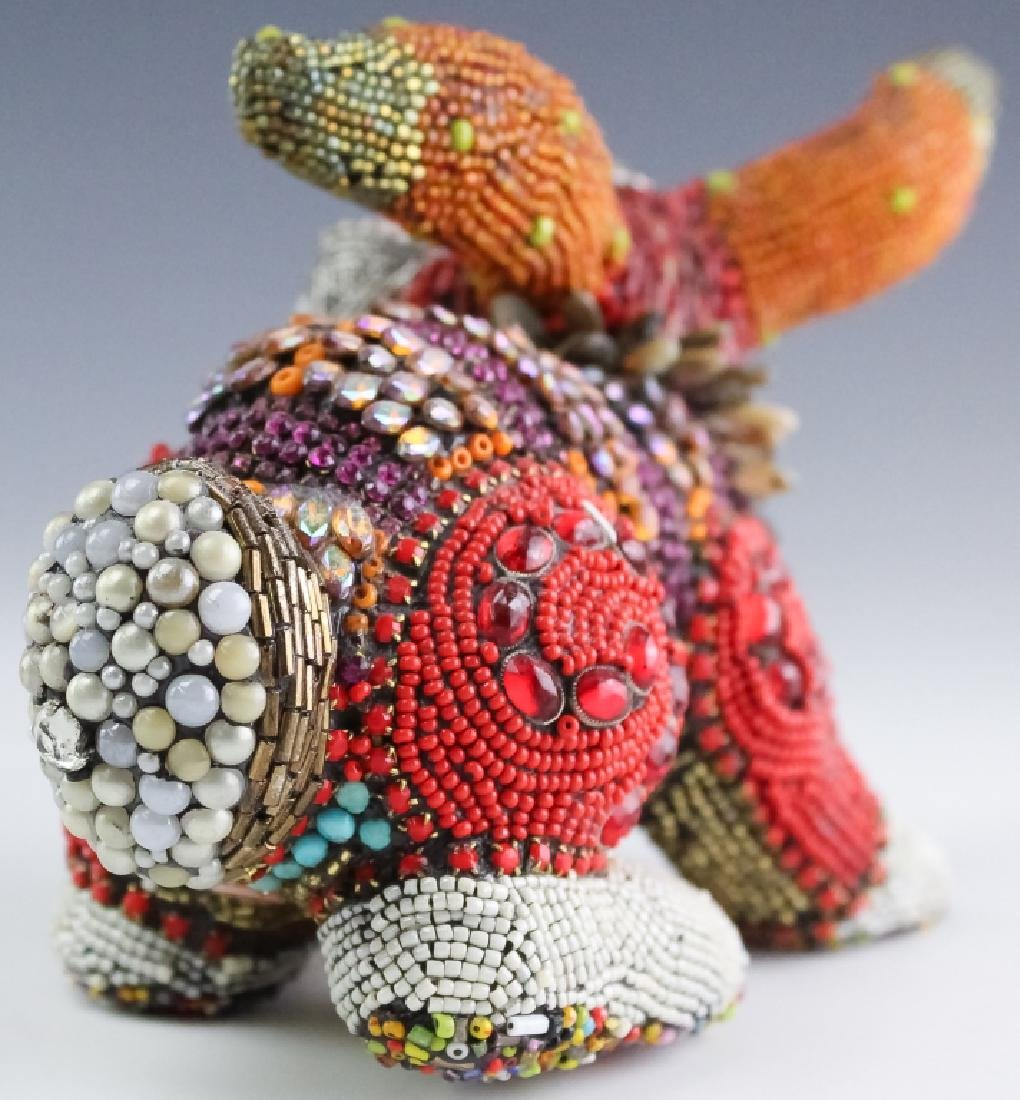 Betsy Youngquist Surrealist Rabbit Art Sculpture - 3
