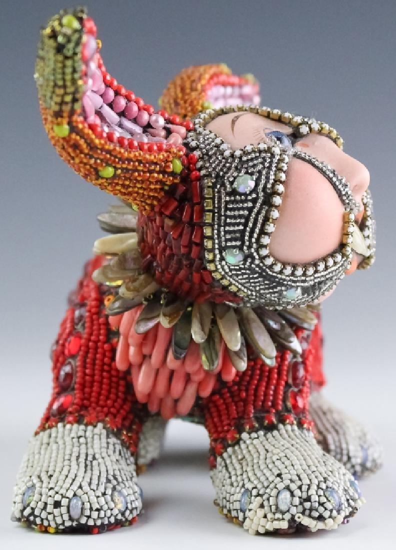 Betsy Youngquist Surrealist Rabbit Art Sculpture - 5
