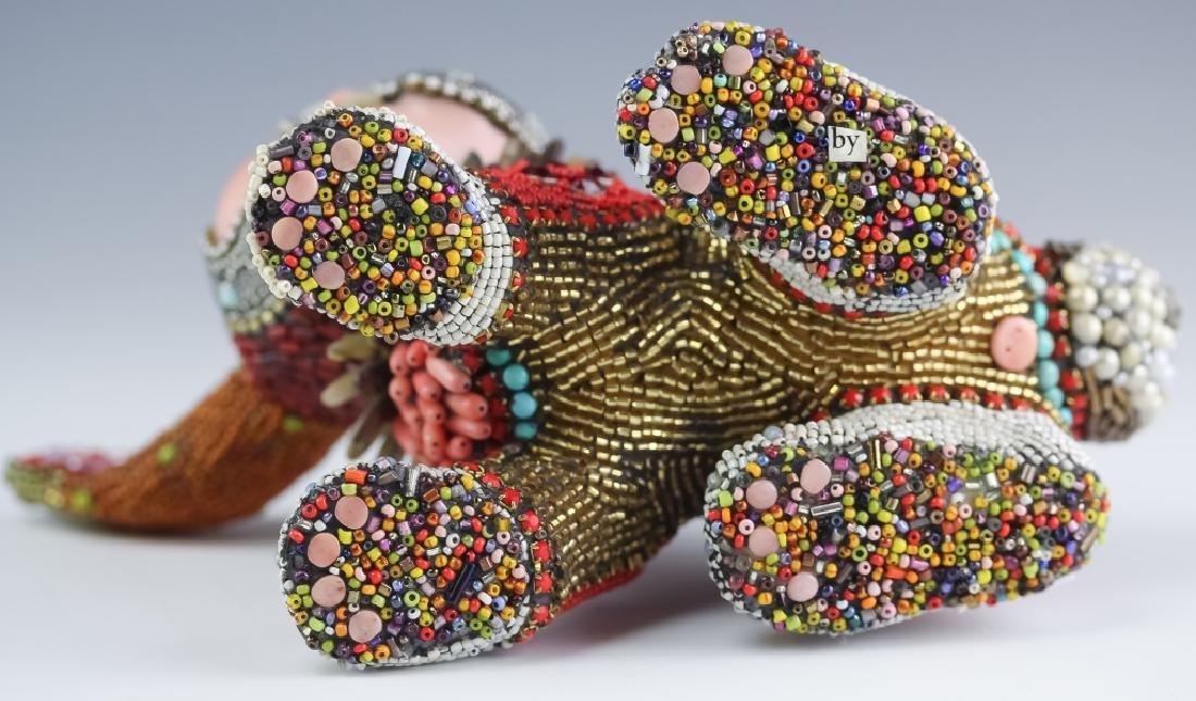 Betsy Youngquist Surrealist Rabbit Art Sculpture - 8