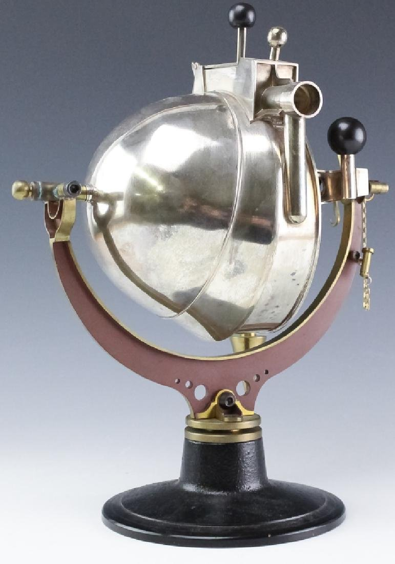 Curtis Lafollette Sterling Silver Steampunk Teapot - 3