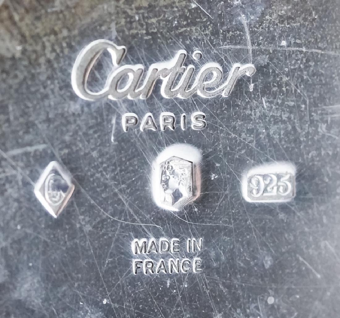 Cartier Sterling & 18k Tri Color Vermeil Flute Cup - 5