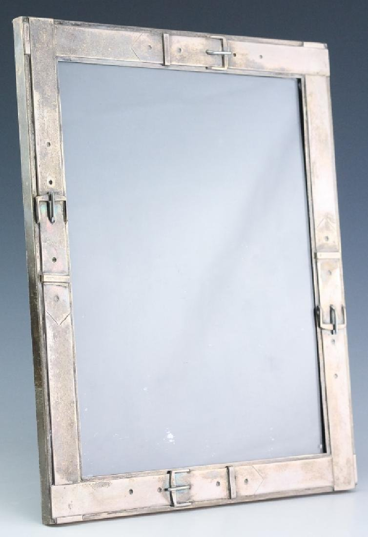 Cartier Hand Made Sterling Silver Picture Frame
