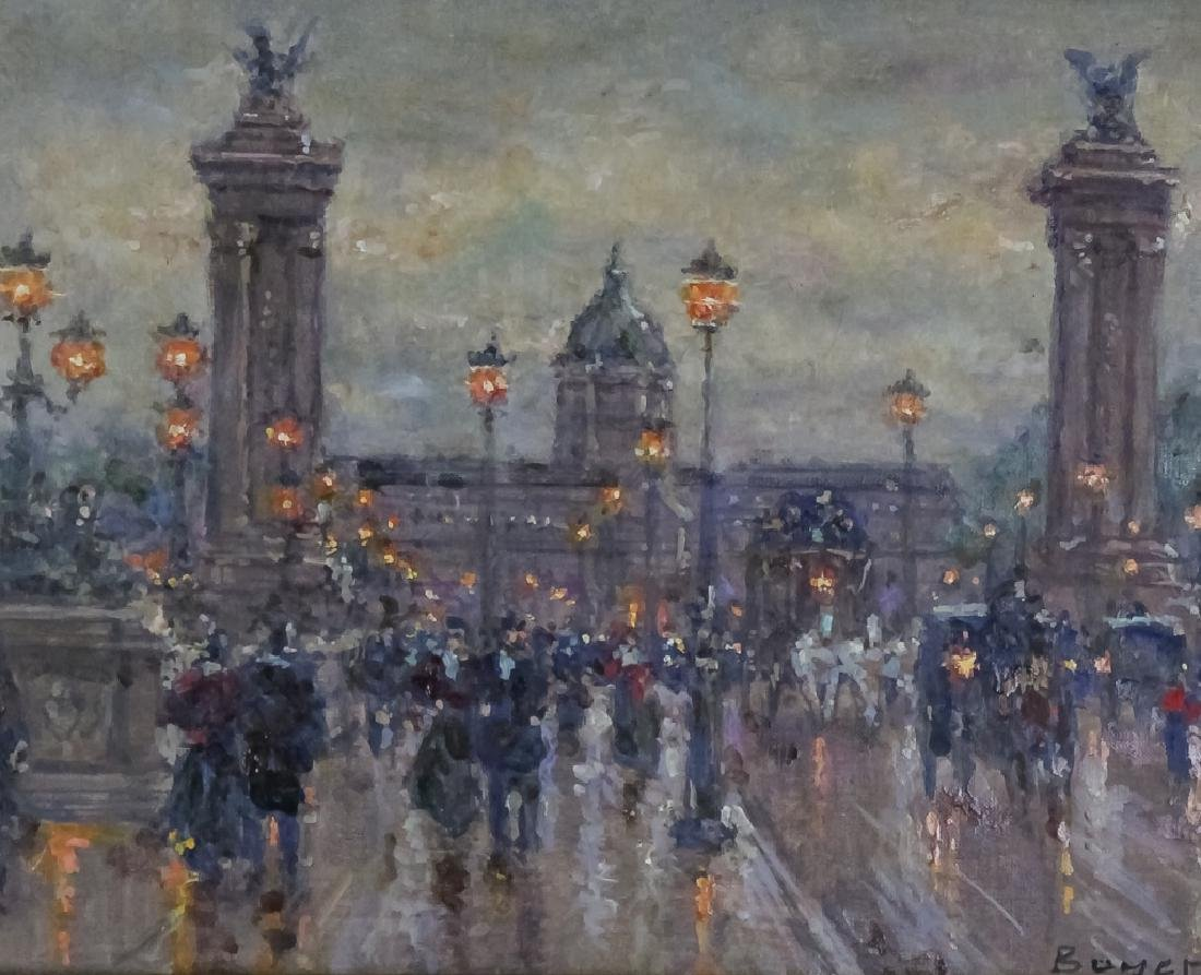 Jean Boyer French Parisian Street Scene Painting - 2