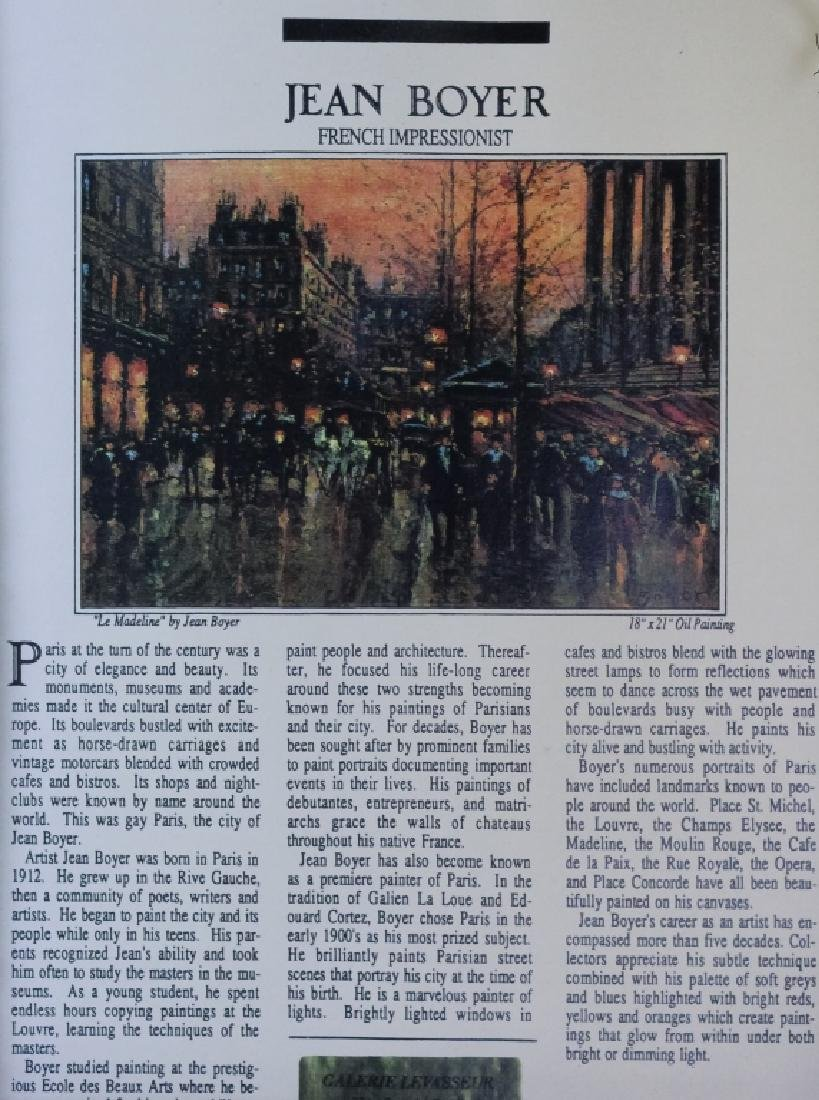 Jean Boyer French Parisian Street Scene Painting - 7