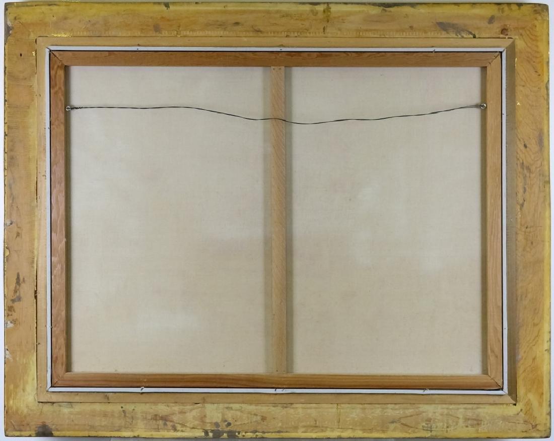Robert Lebron 1928-2013 Parisian Scene Painting - 6