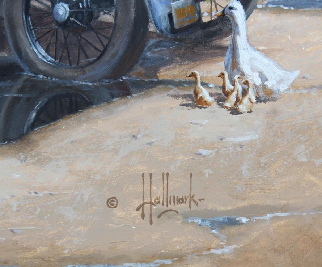 George Hallmark b.1949 American Art Oil Painting - 5