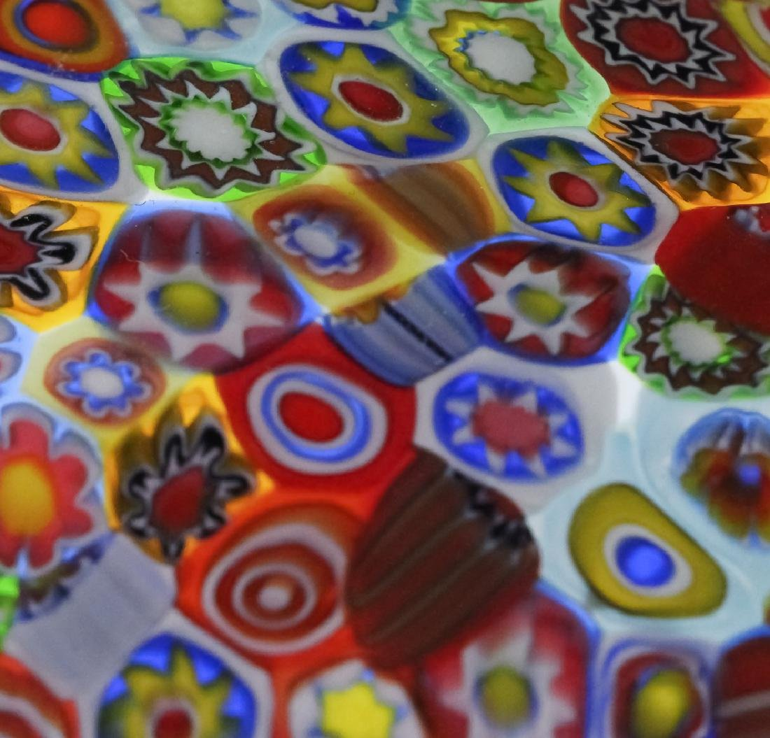Murano Millefiori Toso? Italian Art Glass Bowl - 4