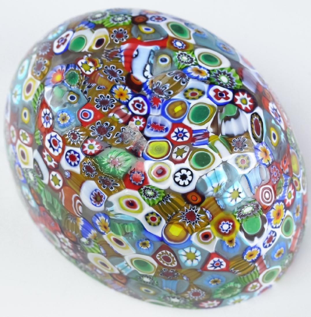 Murano Millefiori Toso? Italian Art Glass Bowl - 6
