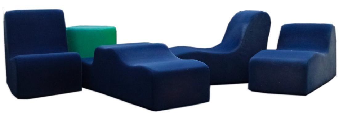 Roberto Matta Malitte Sofa Lounge Puzzle Furniture