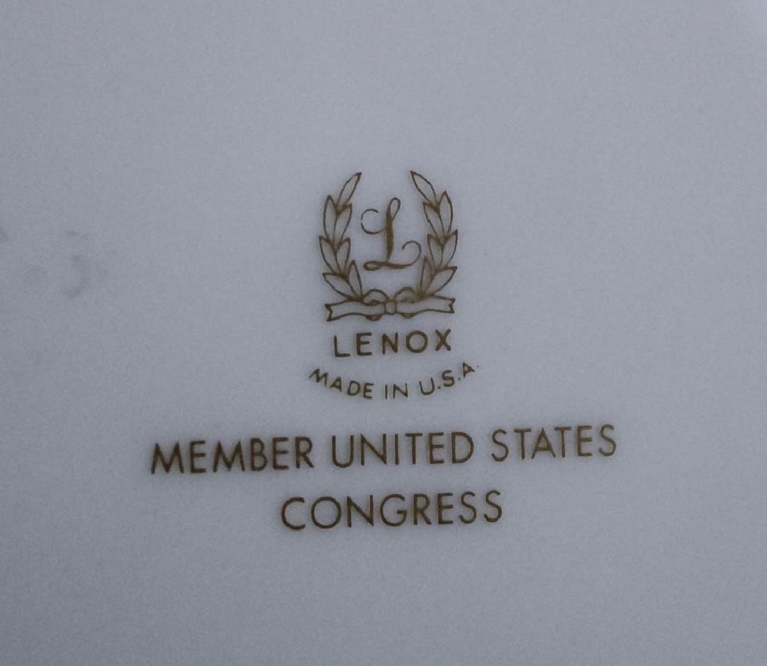 Lenox Congressional Dinner Salad Bread Plates Set - 3