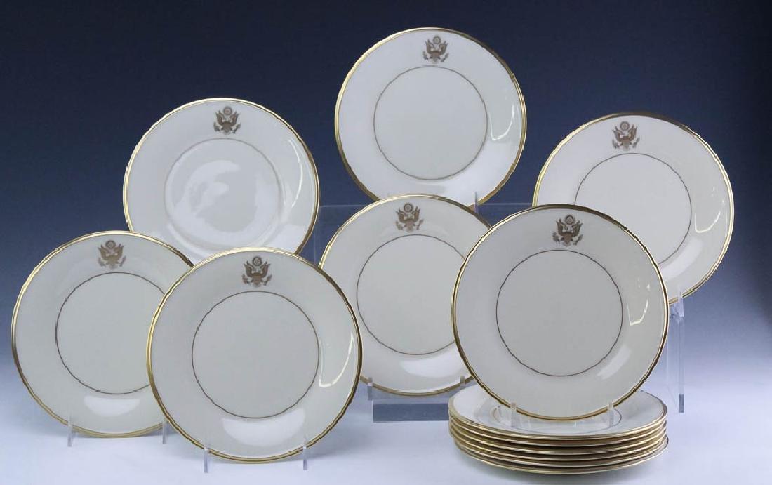 Lenox Congressional Dinner Salad Bread Plates Set - 5