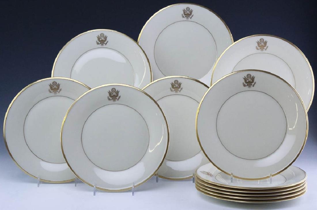 Lenox Congressional Dinner Salad Bread Plates Set - 7