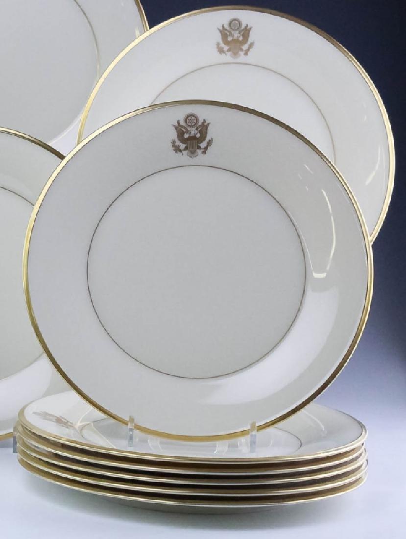 Lenox Congressional Dinner Salad Bread Plates Set - 8