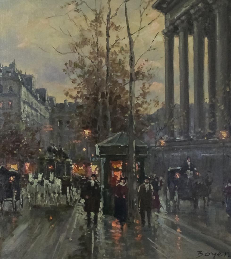 Jean Boyer (b.1915) French Street Scene Painting - 2