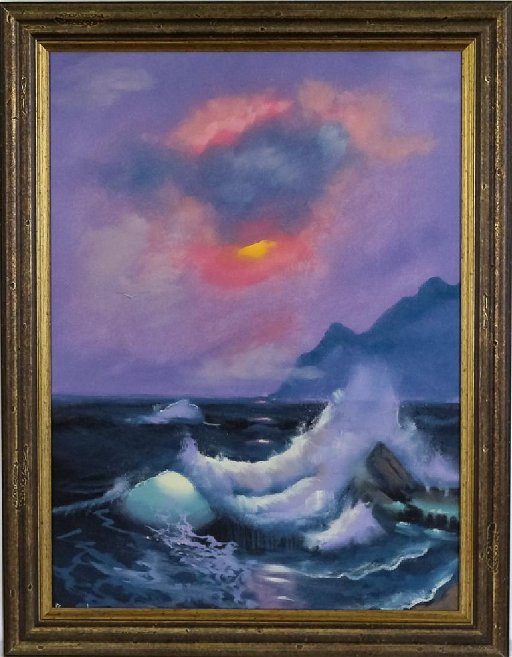 Buck Paulson American Seascape Oil Art Painting