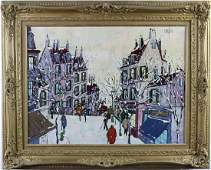 Jean Nerfin b.1922 American Landscape Oil Painting