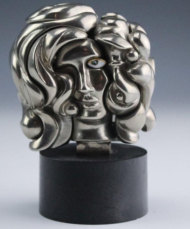 Miguel Berrocal Portrait De Michele Art Sculpture