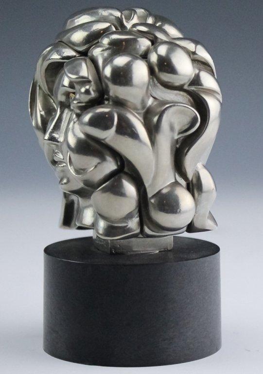 Miguel Berrocal Portrait De Michele Art Sculpture - 2