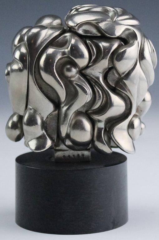 Miguel Berrocal Portrait De Michele Art Sculpture - 3