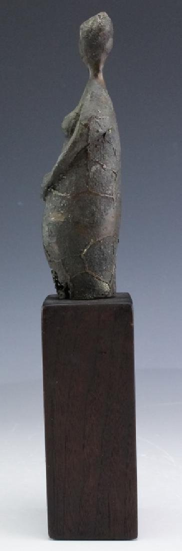 Modern American Nude Female Bronze Art Sculpture - 3
