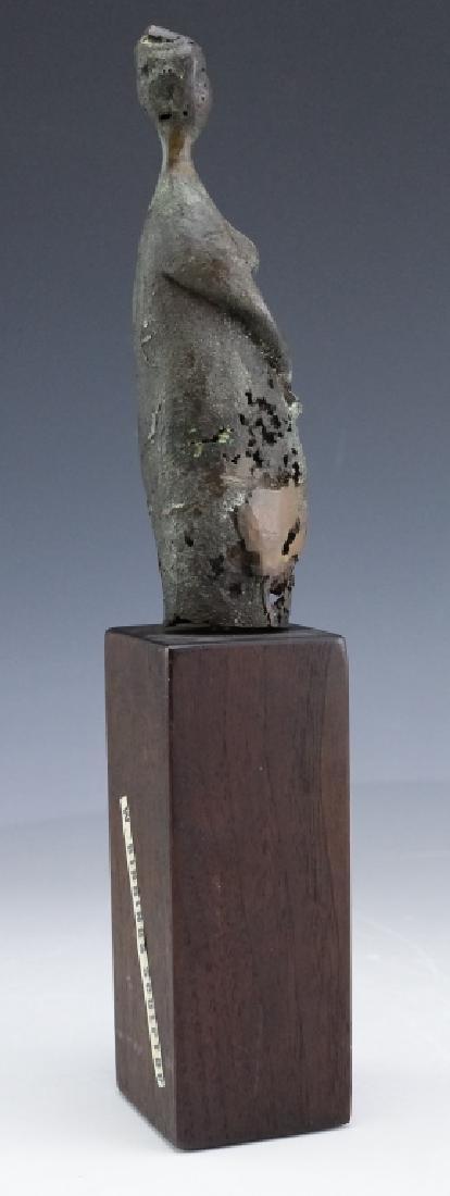 Modern American Nude Female Bronze Art Sculpture - 5