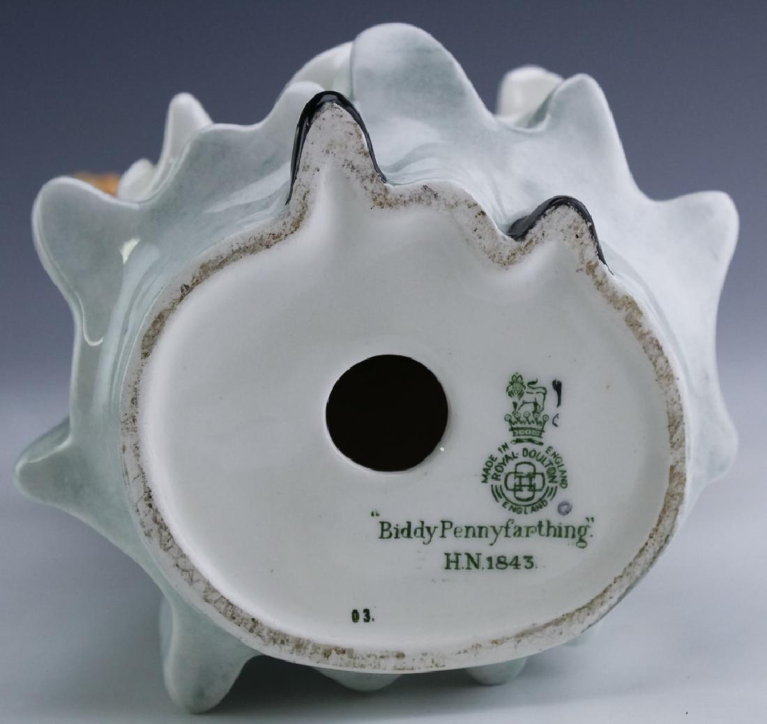 Royal Doulton Lady & Balloons Porcelain Figurine - 5